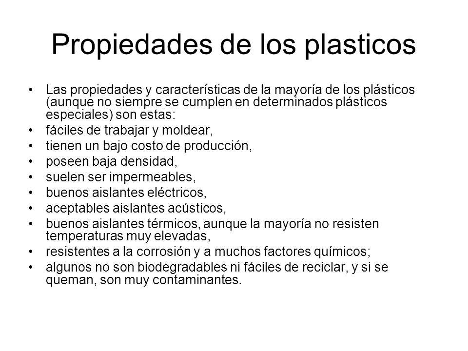 Propiedades de los plasticos
