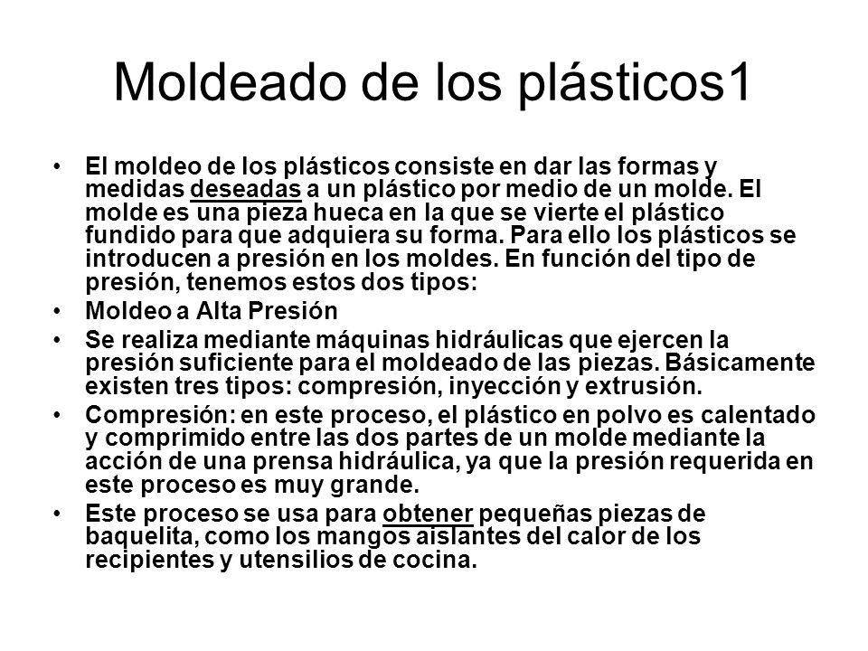 Moldeado de los plásticos1