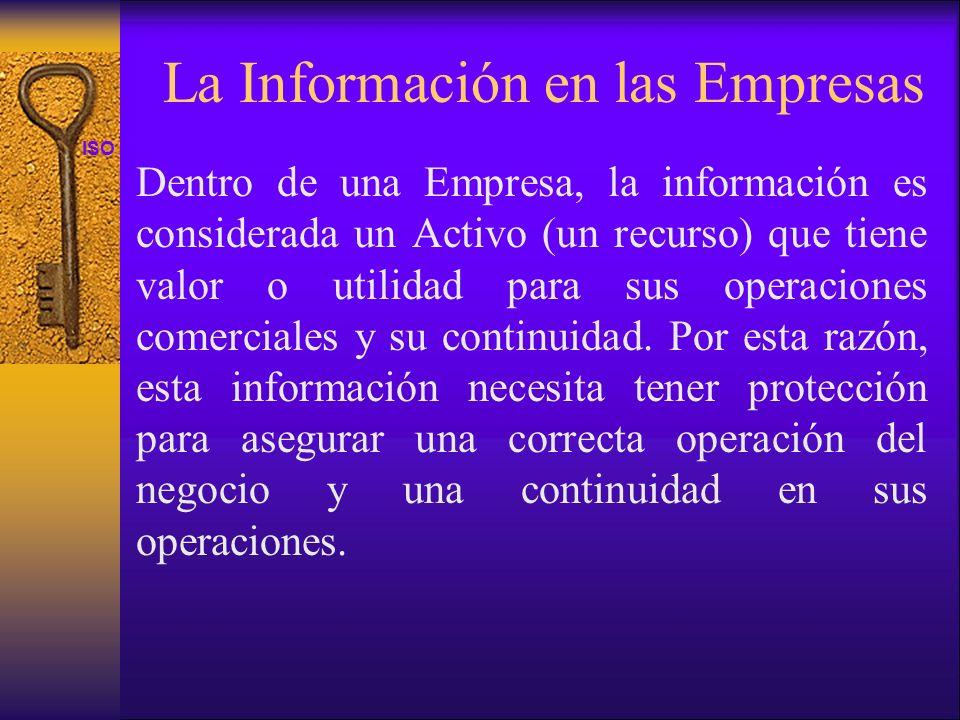 La Información en las Empresas