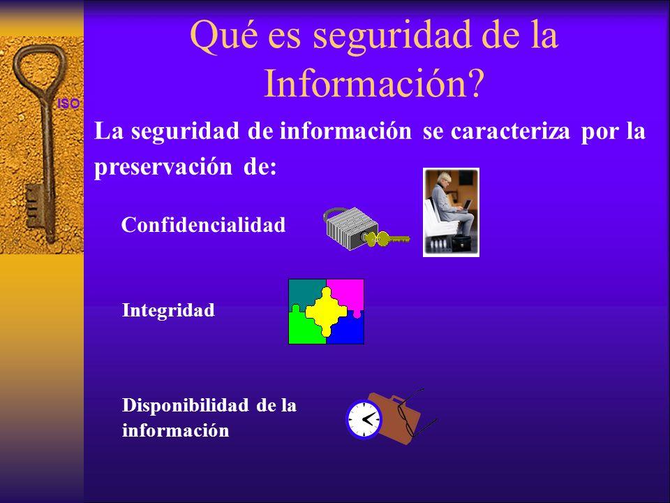 Qué es seguridad de la Información