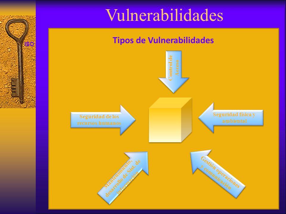 Vulnerabilidades Tipos de Vulnerabilidades Control de Acceso