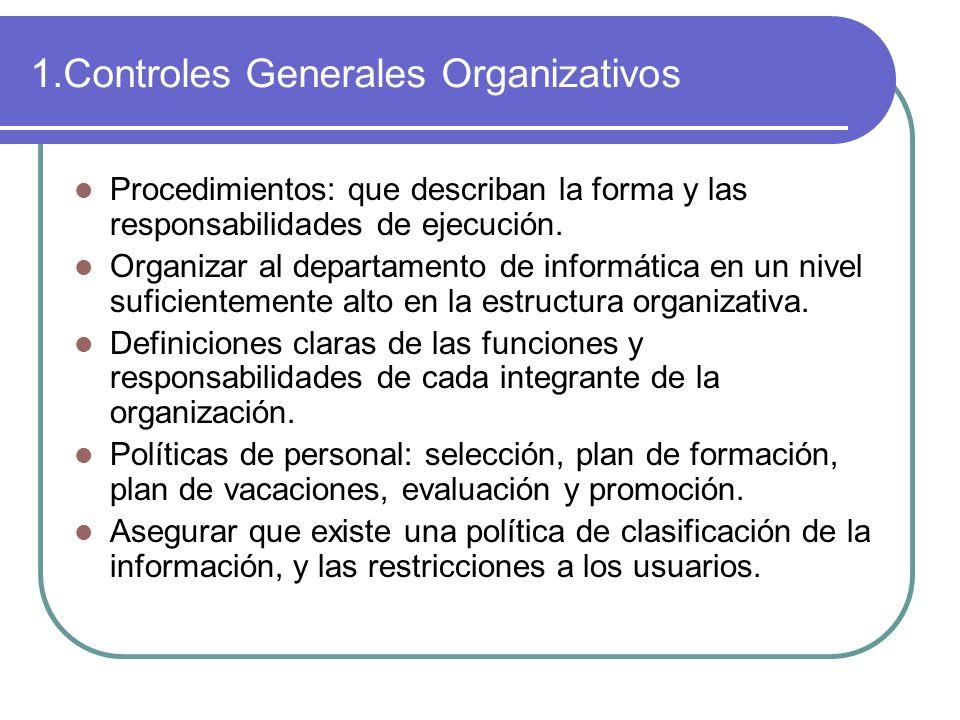 1.Controles Generales Organizativos