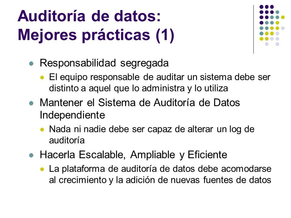 Auditoría de datos: Mejores prácticas (1)