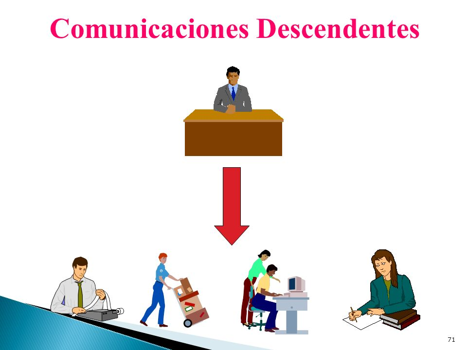 Comunicaciones Descendentes