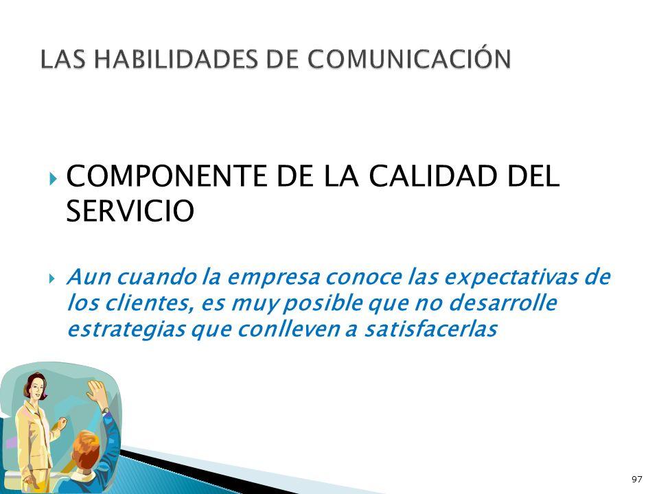LAS HABILIDADES DE COMUNICACIÓN