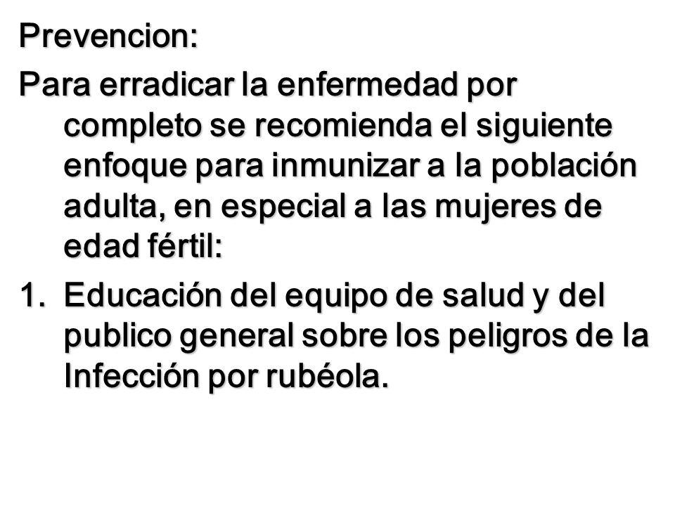 Prevencion: