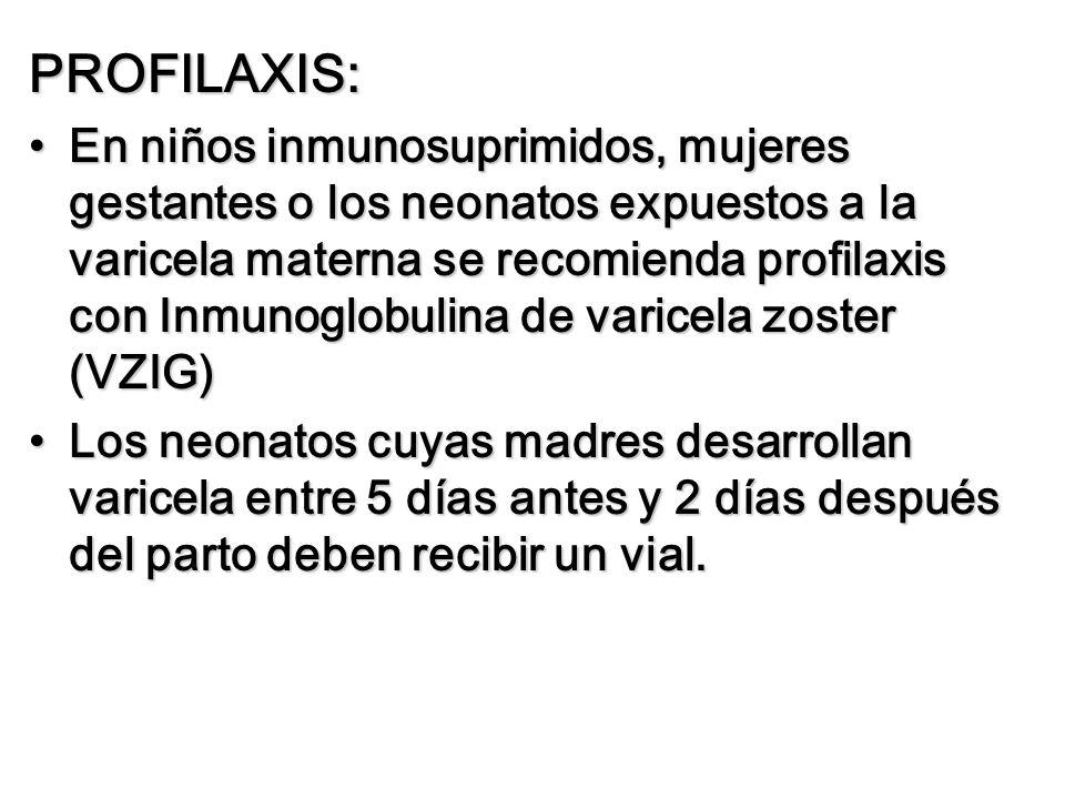 PROFILAXIS: