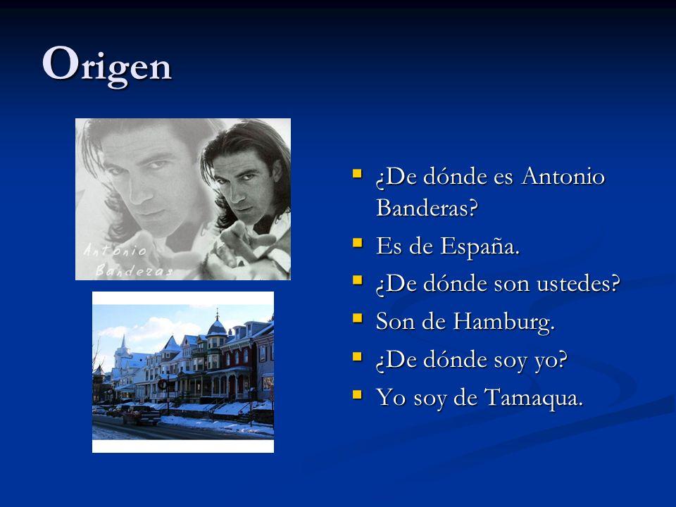 Origen ¿De dónde es Antonio Banderas Es de España.