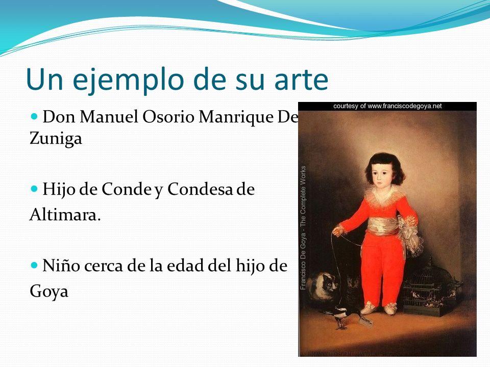 Un ejemplo de su arte Don Manuel Osorio Manrique De Zuniga