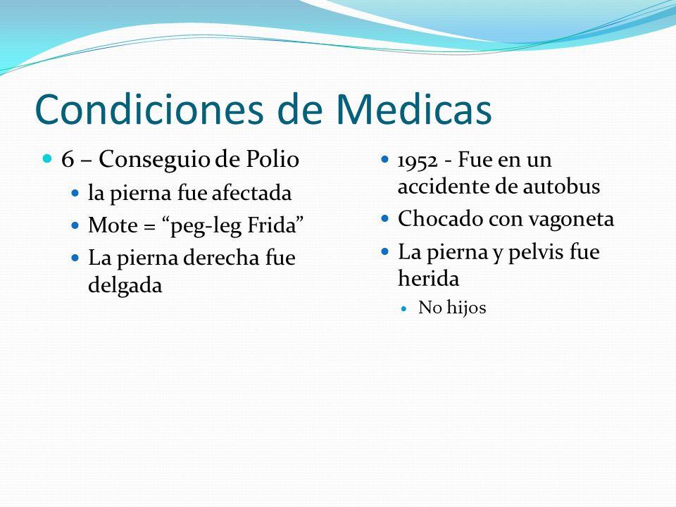 Condiciones de Medicas