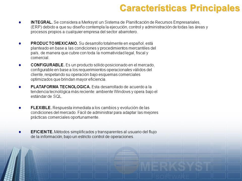 Características Principales