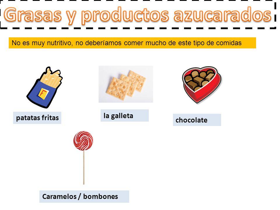 Grasas y productos azucarados