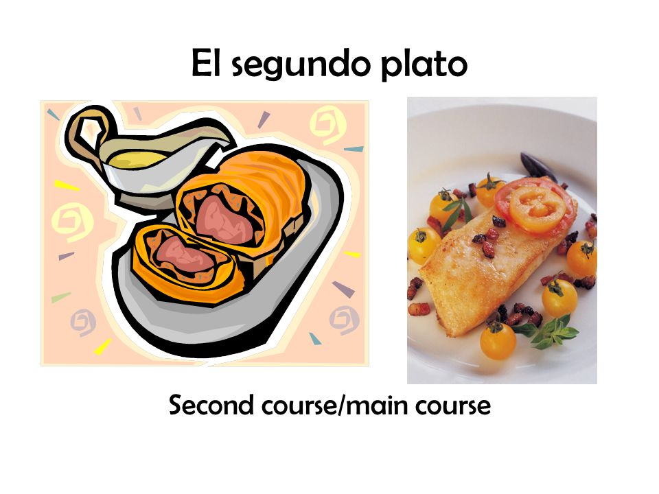 Second course/main course