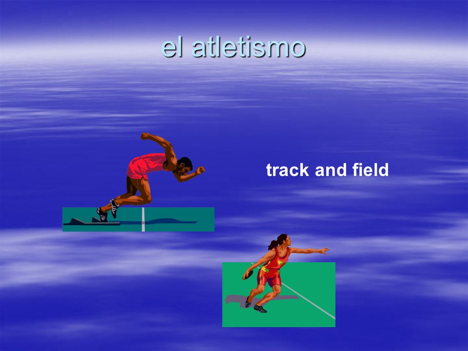 el atletismo track and field