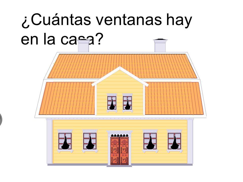 ¿Cuántas ventanas hay en la casa
