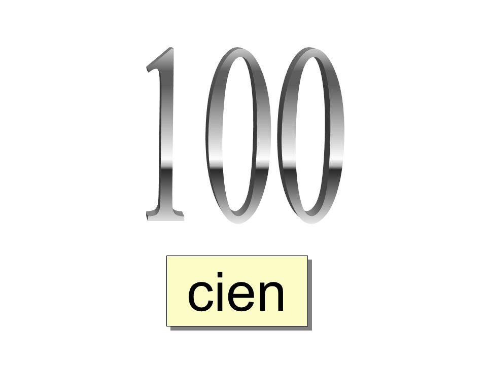 100 cien