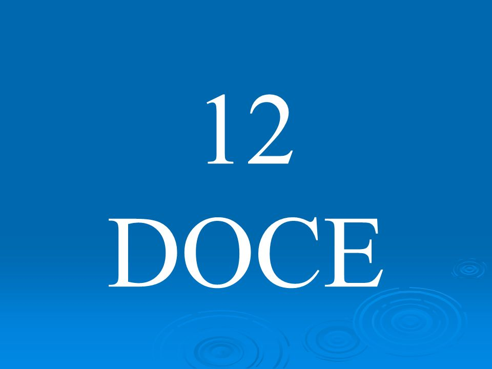 12 DOCE