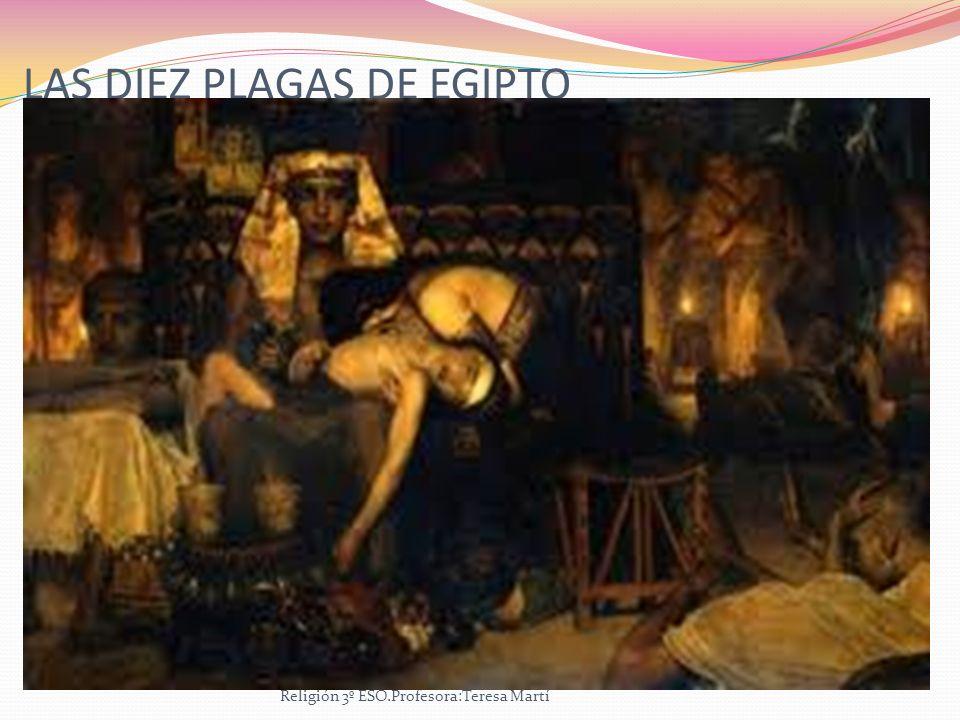 LAS DIEZ PLAGAS DE EGIPTO