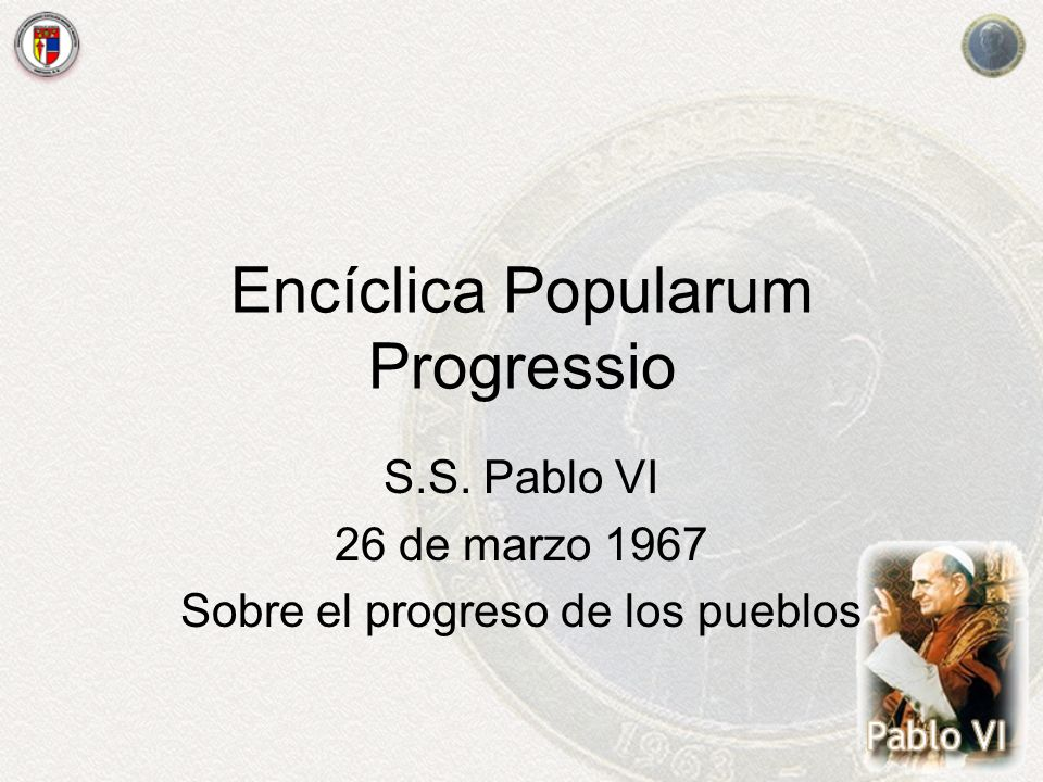 Encíclica Popularum Progressio