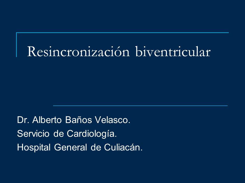 Resincronización biventricular