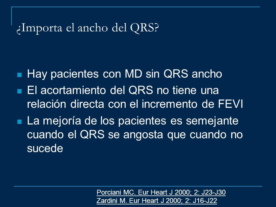 ¿Importa el ancho del QRS