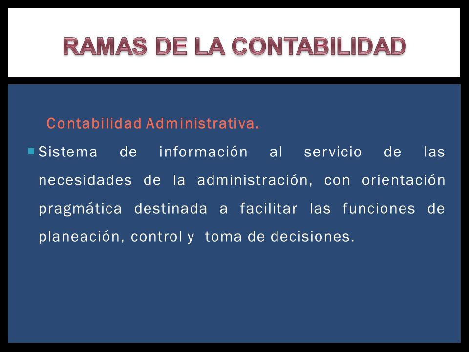RAMAS DE LA CONTABILIDAD