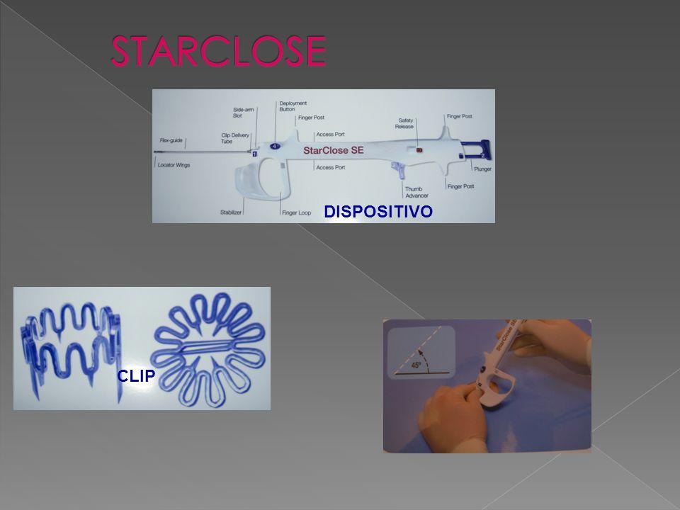 STARCLOSE DISPOSITIVO CLIP