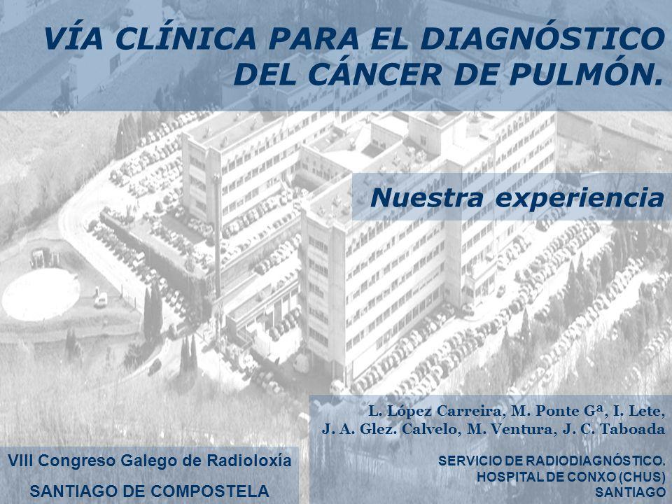 VIII Congreso Galego de Radioloxía SANTIAGO DE COMPOSTELA