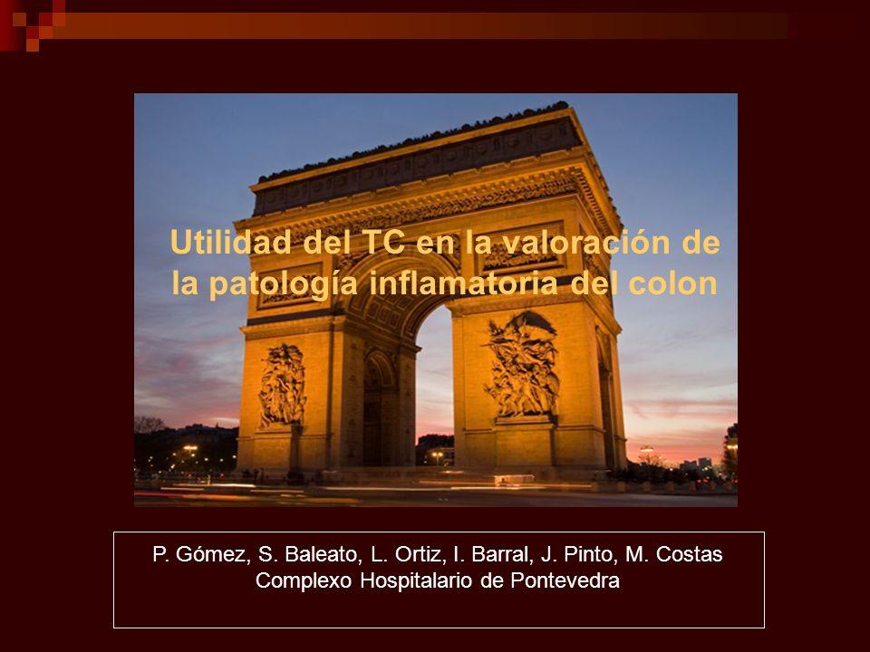 Utilidad del TC en la valoración de la patología inflamatoria del colon