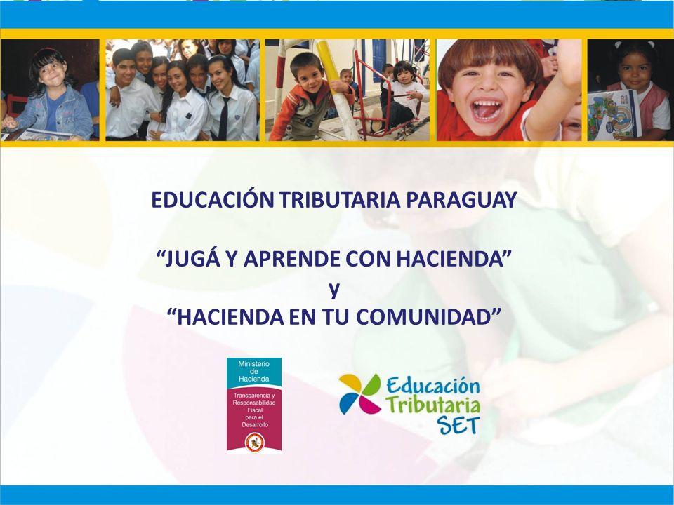 EDUCACIÓN TRIBUTARIA PARAGUAY JUGÁ Y APRENDE CON HACIENDA y