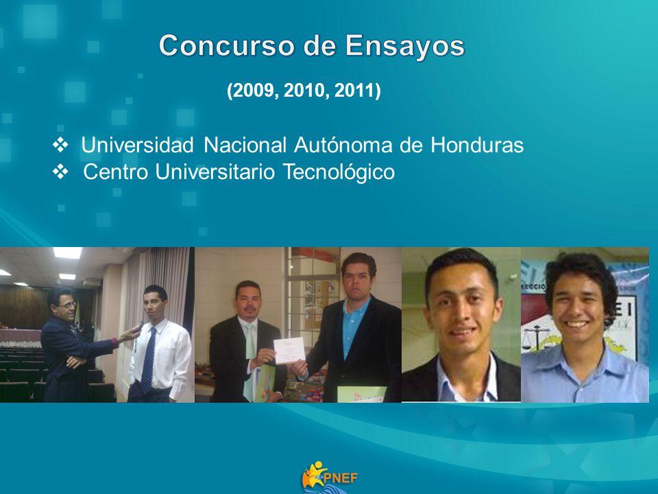 Concurso de Ensayos Universidad Nacional Autónoma de Honduras