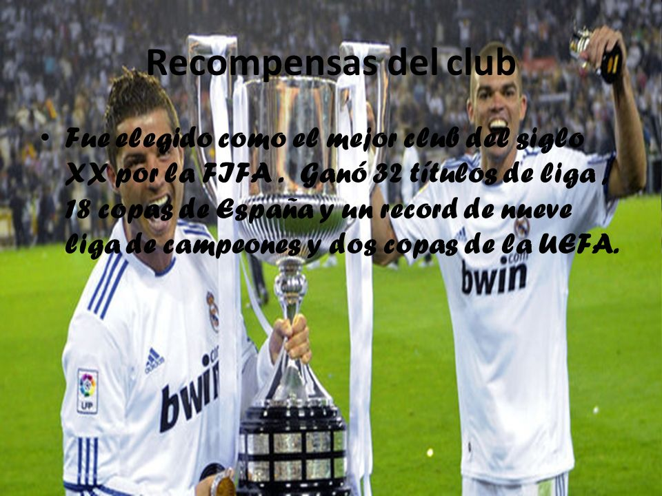 Recompensas del club