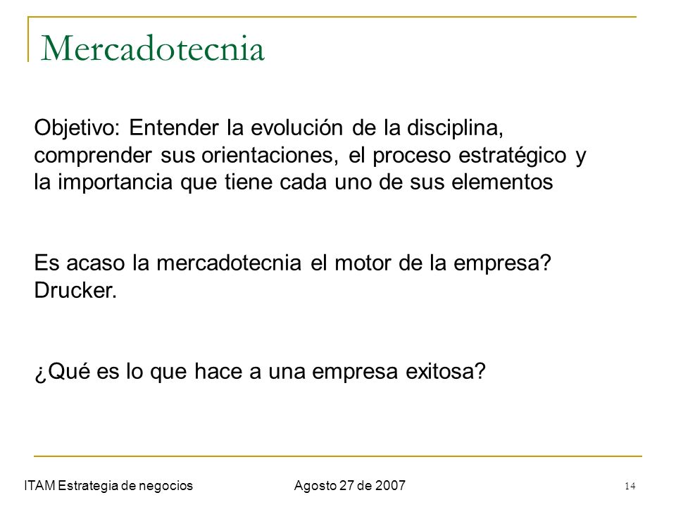 Semana 1. Introduccion Mercadotecnia.