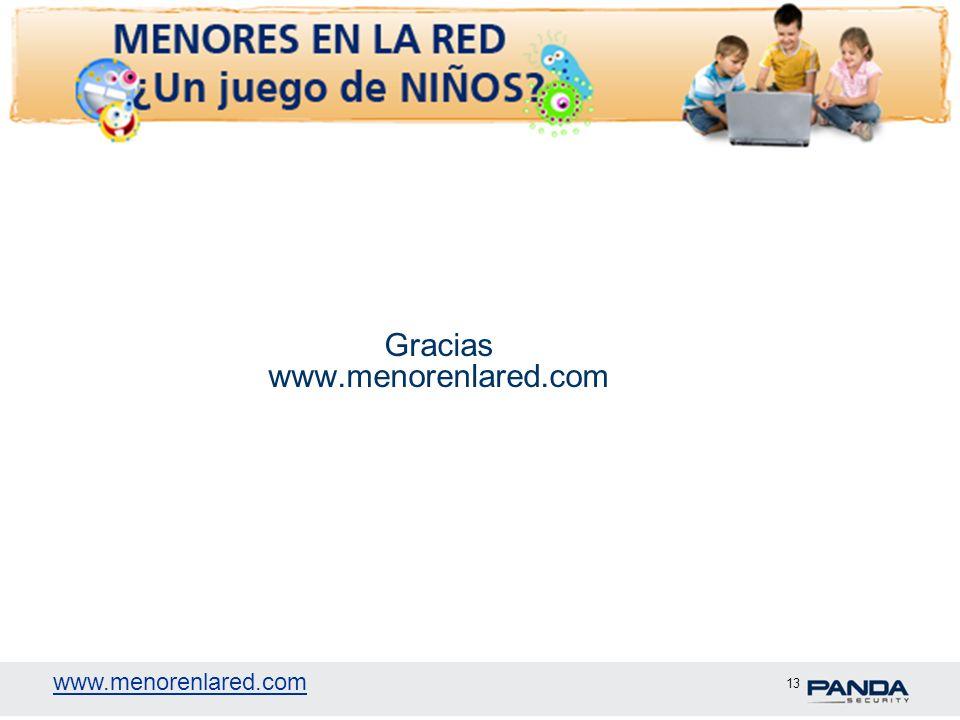 Gracias www.menorenlared.com
