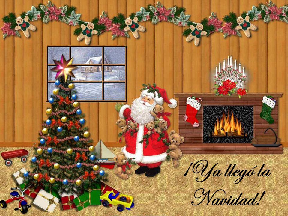¡Ya llegó la Navidad!