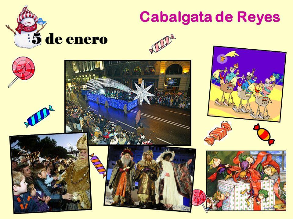 Cabalgata de Reyes 5 de enero