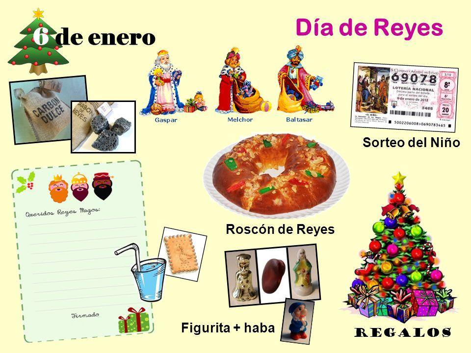 Día de Reyes 6 de enero Sorteo del Niño Roscón de Reyes
