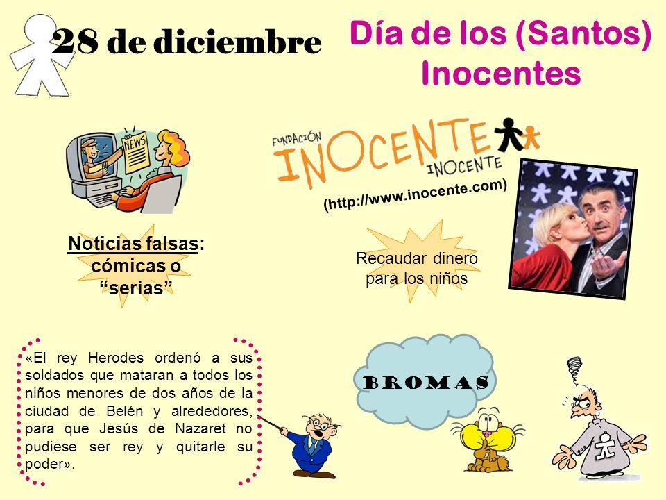 Día de los (Santos) Inocentes