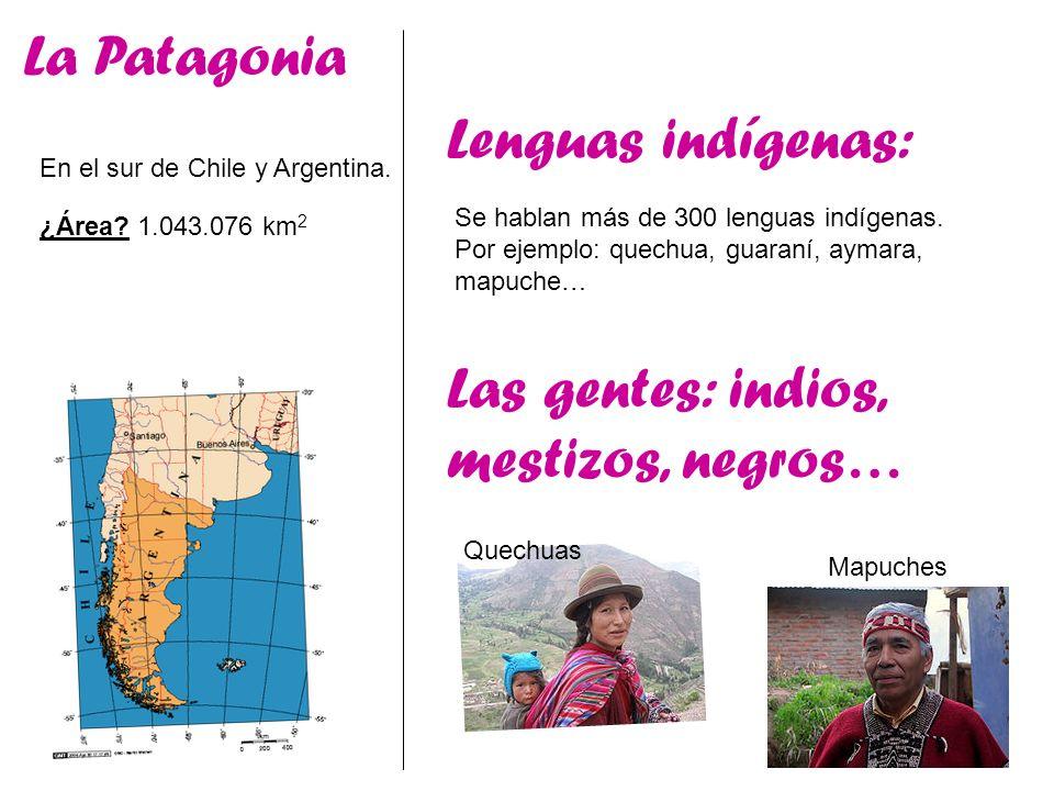 Las gentes: indios, mestizos, negros…