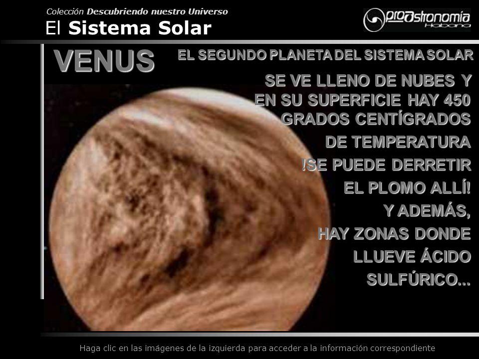 EL SEGUNDO PLANETA DEL SISTEMA SOLAR