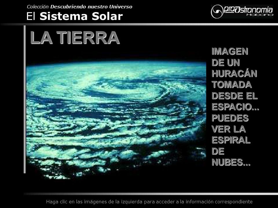 LA TIERRA El Sistema Solar