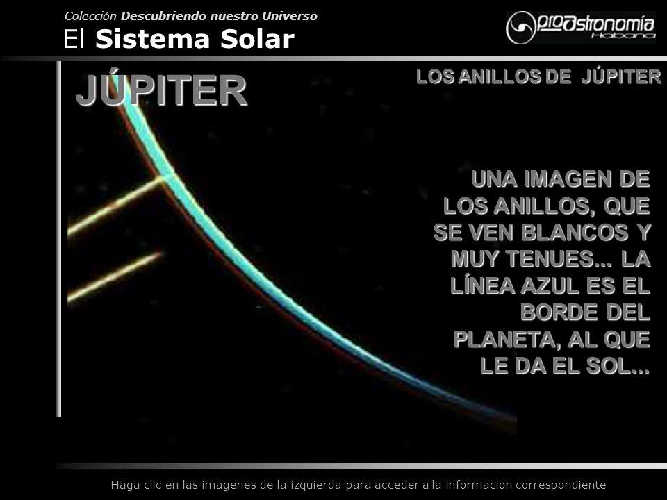 JÚPITER El Sistema Solar