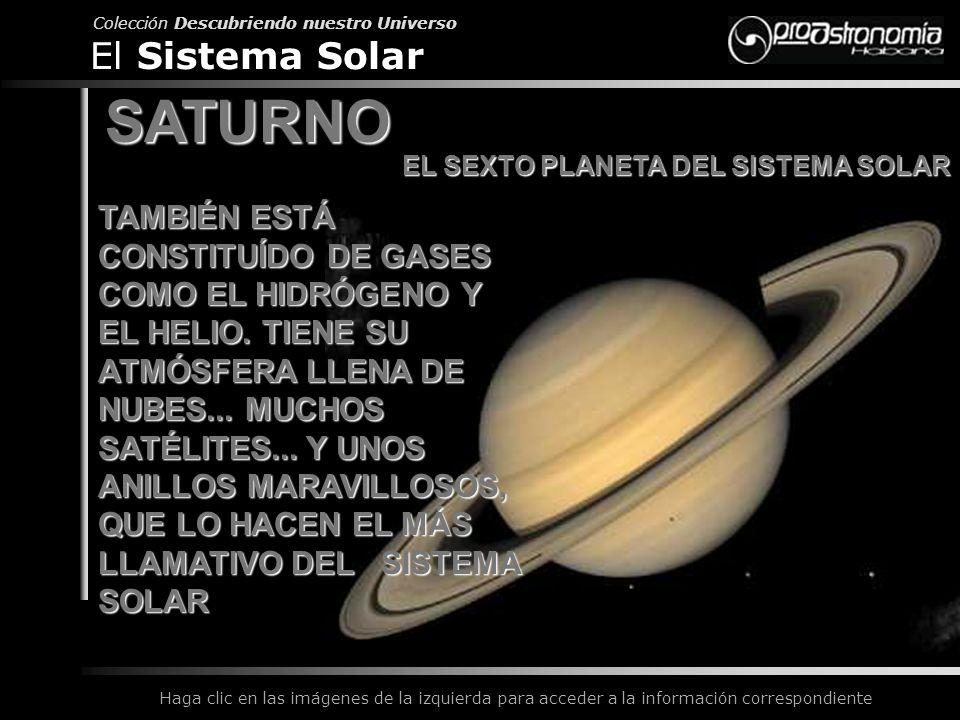 SATURNO El Sistema Solar