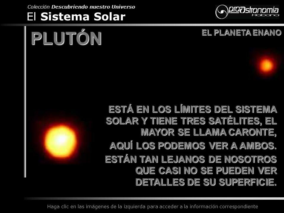 PLUTÓN El Sistema Solar