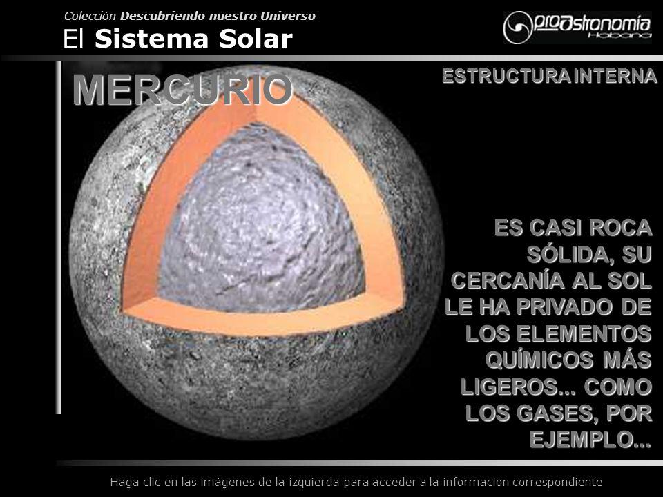MERCURIO El Sistema Solar