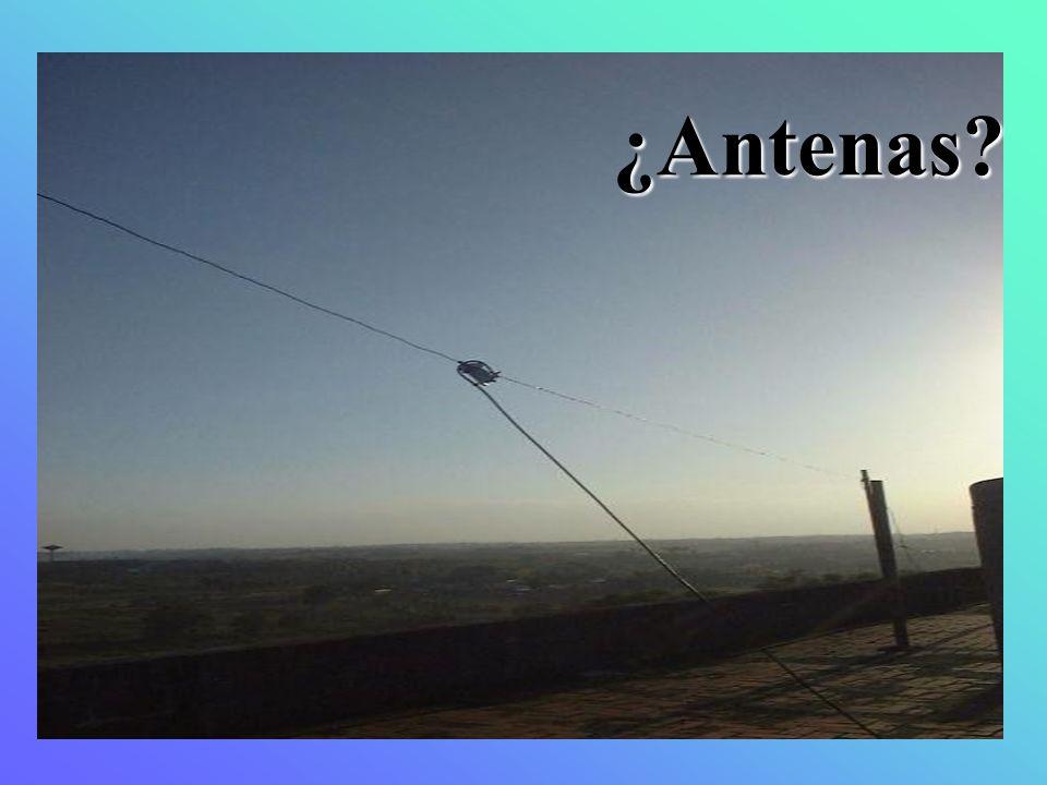 ¿Antenas
