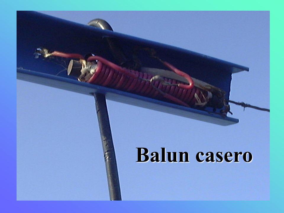 Balun casero