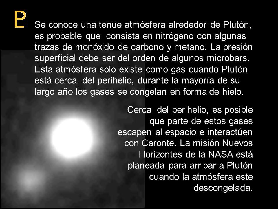 Datos sobre Plutón
