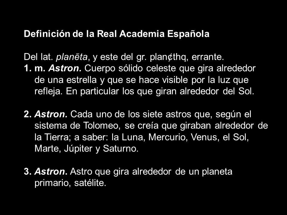 Definición de la Real Academia Española