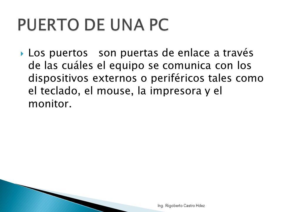 PUERTO DE UNA PC